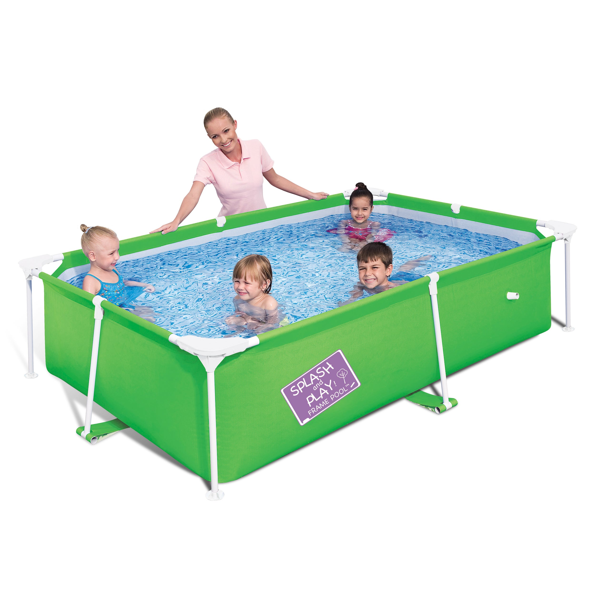Shop Bestway My First Frame Pool - Free Shipping Today - Overstock ...