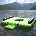 LayZRiver Inflatable Swim Floating Island