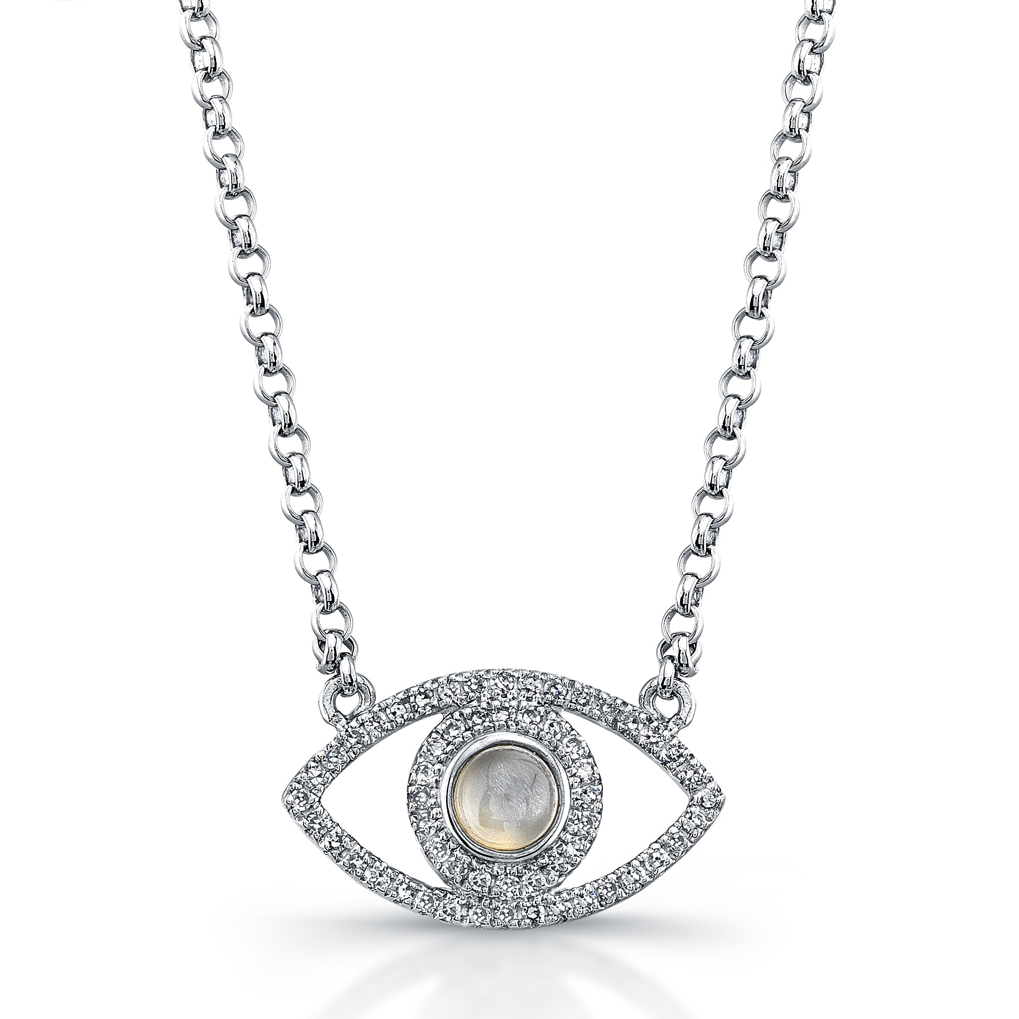 und evil newone to diamant en gross new diamond jewellery one schmuck click rosegold klein halskette eye zoom