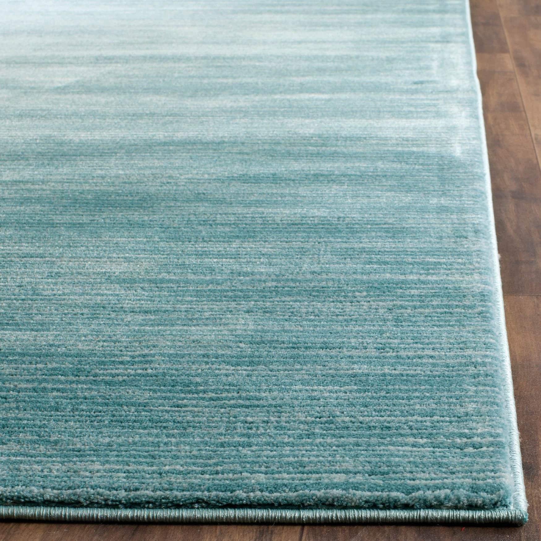 Safavieh Vision Contemporary Tonal Aqua Blue Area Rug - 8\' x 10 ...