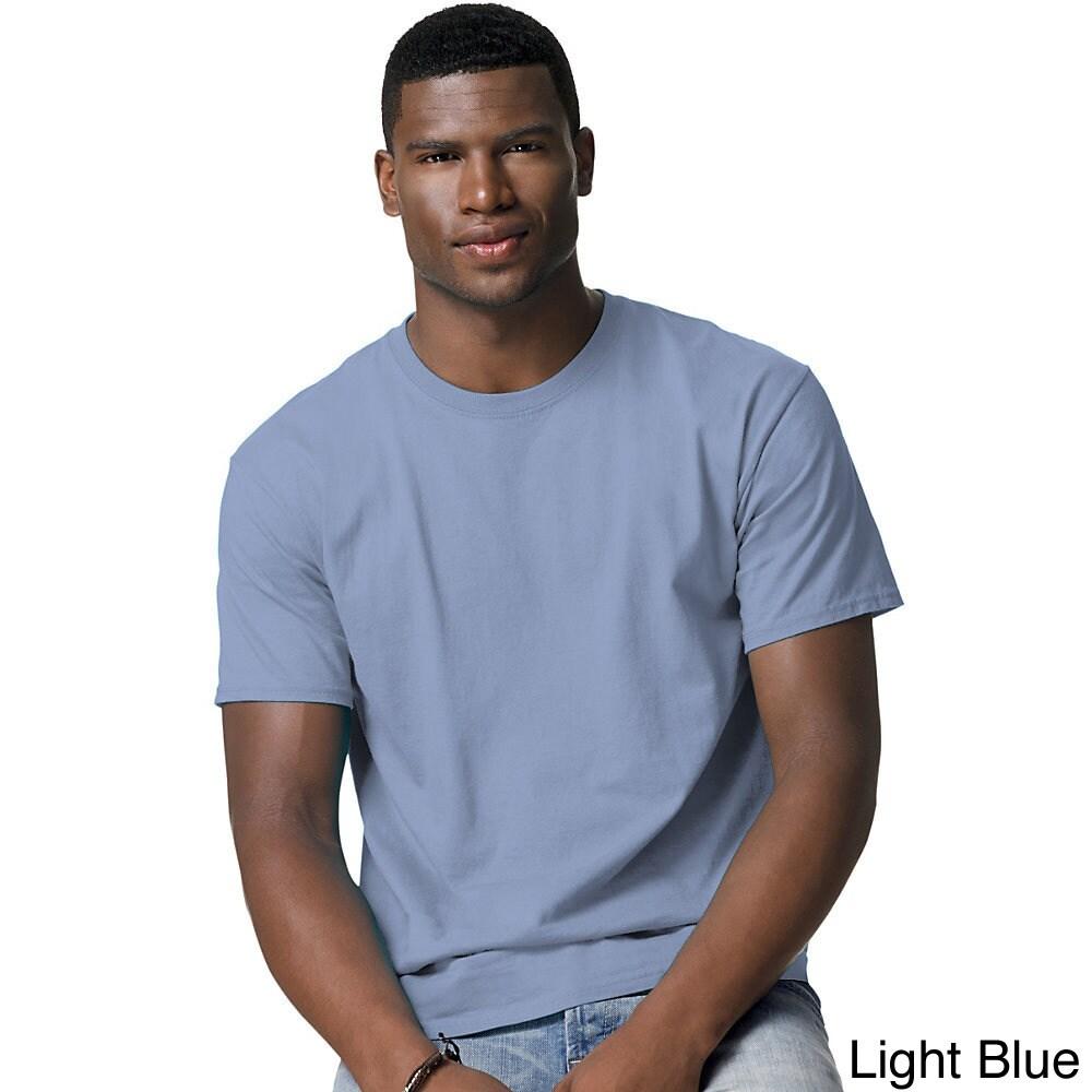 adf4c1673327 Hanes Mens Tagless Comfortsoft Crewneck T Shirt
