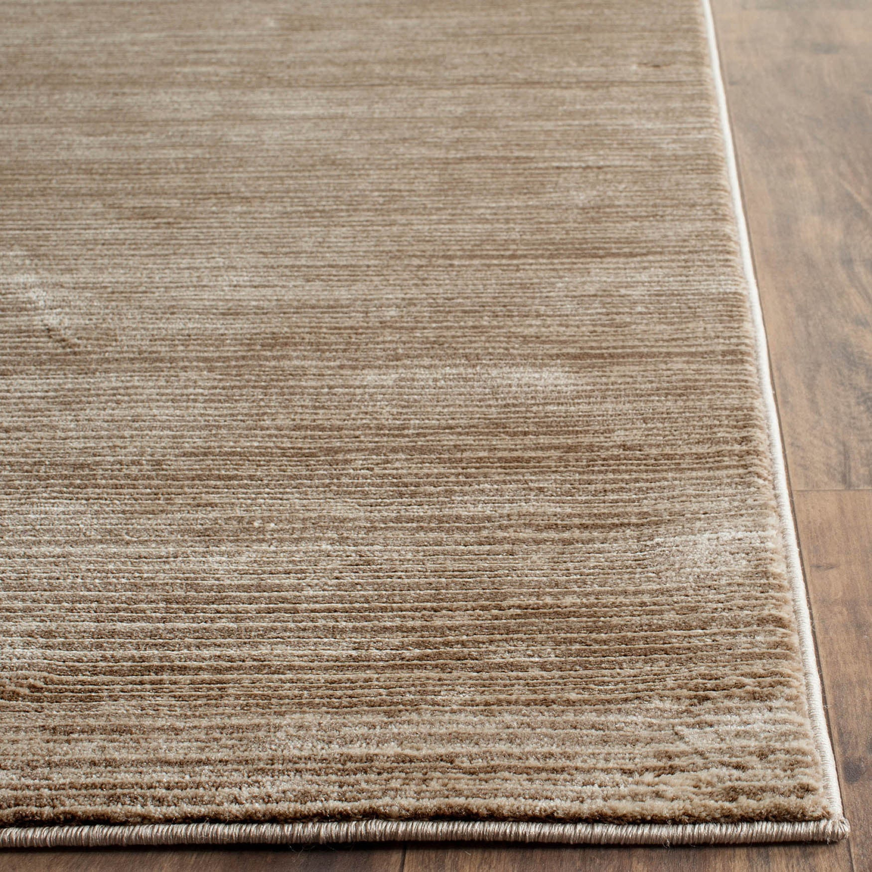 Safavieh Vision Contemporary Tonal Light Brown Area Rug 5 1 X 7 6 On Free Shipping Today 10059611