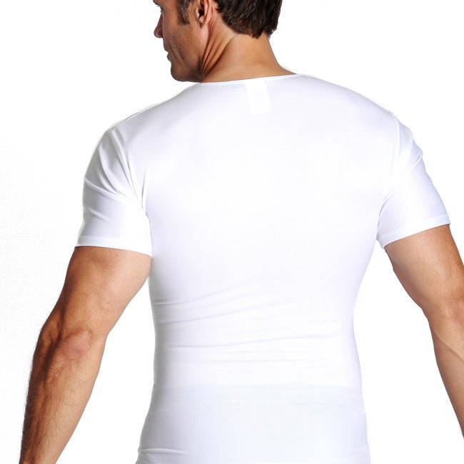 01ae38c2 Shop Insta Slim Compression 6 Pack V-Neck Shirts - Free Shipping Today -  Overstock - 10059950