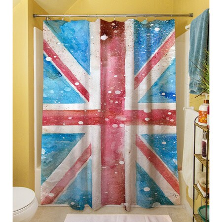 Shop Union Jack Shower Curtain