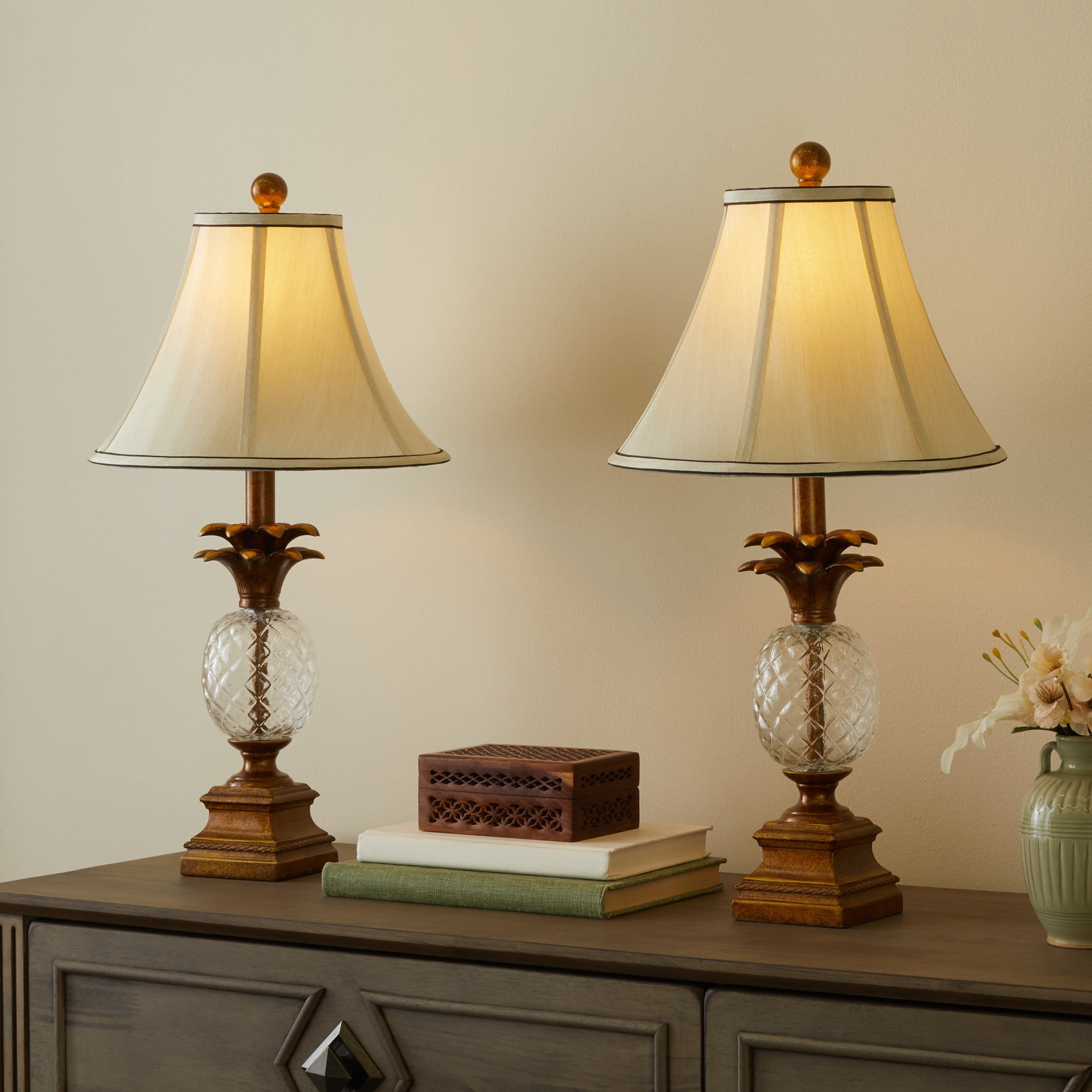 table lamp pineapple lamps and amazing style