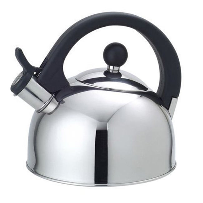 Shop Stainless Steel 25 Liter Whistling Tea Kettle Free Shipping