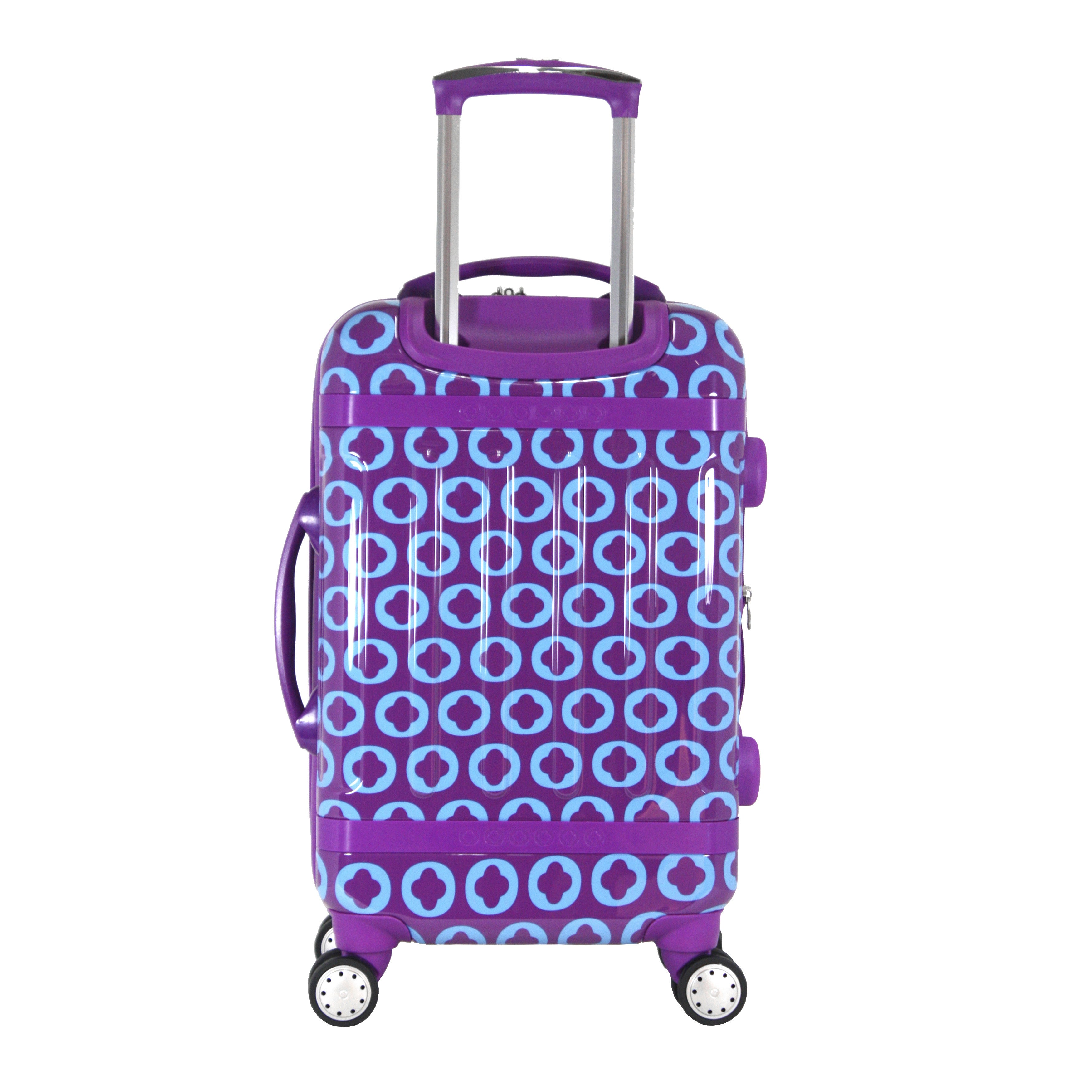 1cde625a96a2 J World New York Taqoo 20-inch Hardside Carry-on Spinner Upright Suitcase