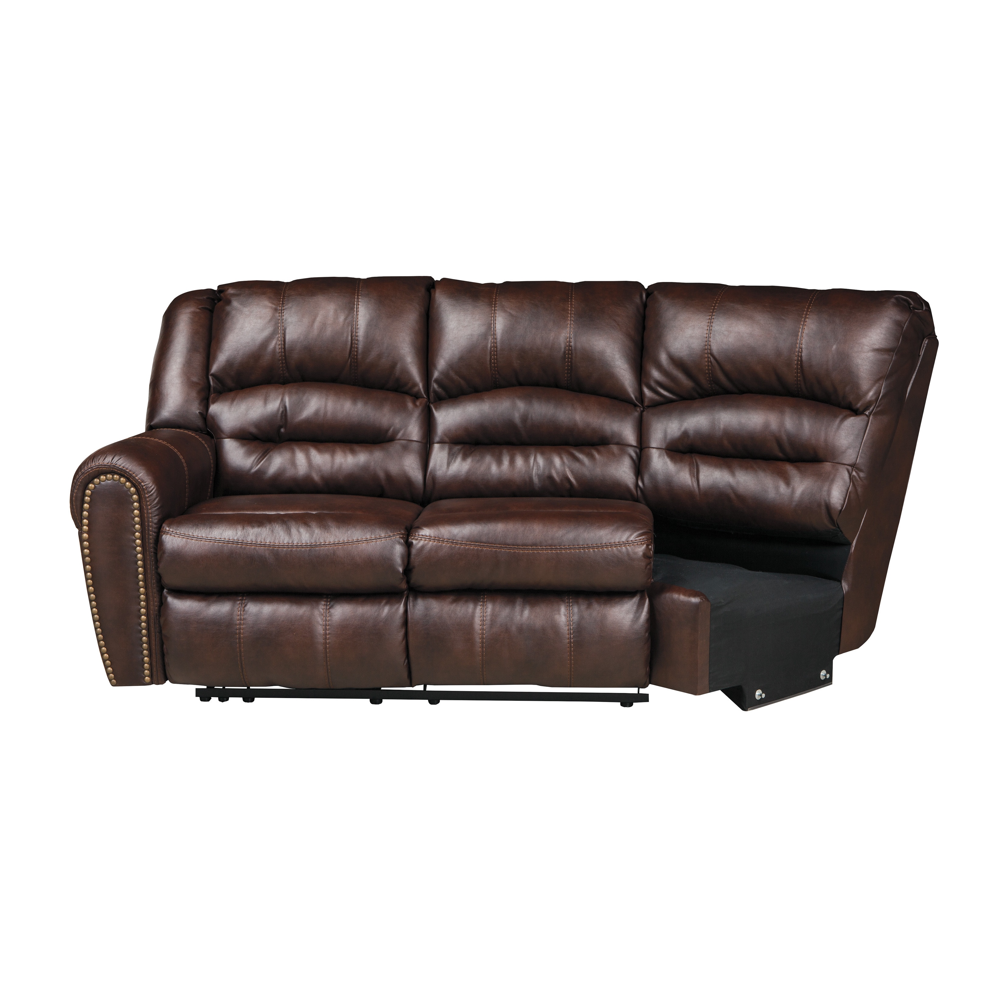 Shop Signature Designs By Ashley Manzanola Chocolate Reclining Loveseat  Combo   Free Shipping Today   Overstock.com   10066521