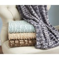 Home Fashion Designs Hastings Collection Ultra Velvet Plush Luxury Sculpted Throw Blanket