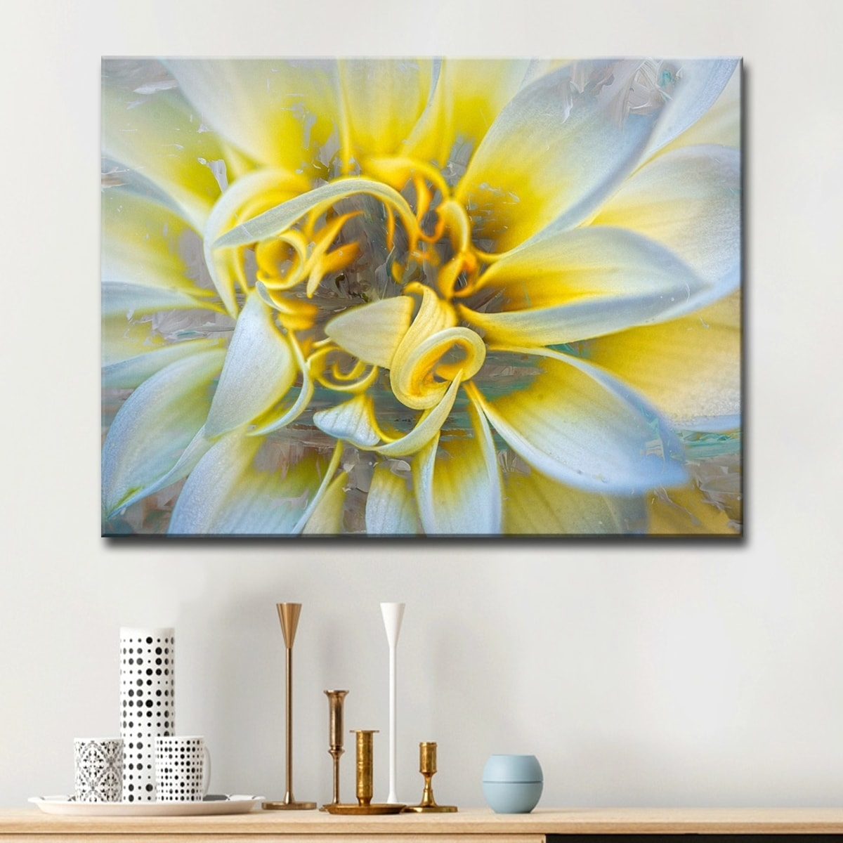 Yellow Canvas Wall Art   www.topsimages.com