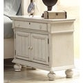 Laguna Antique White 2-door Nightstand by Greyson Living
