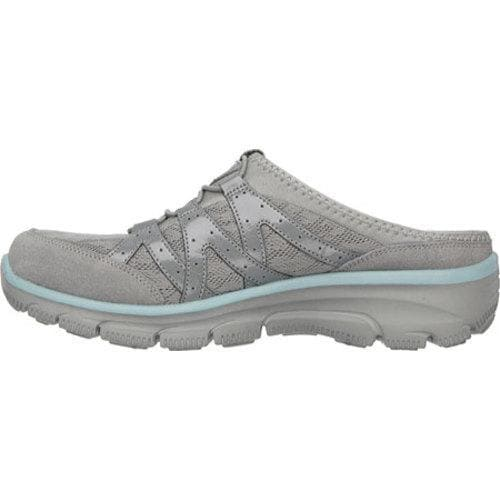 Shop Women s Skechers Relaxed Fit Easy Going Repute Clog Sneaker Gray -  Free Shipping Today - Overstock - 10068077 b99c16dc18eb