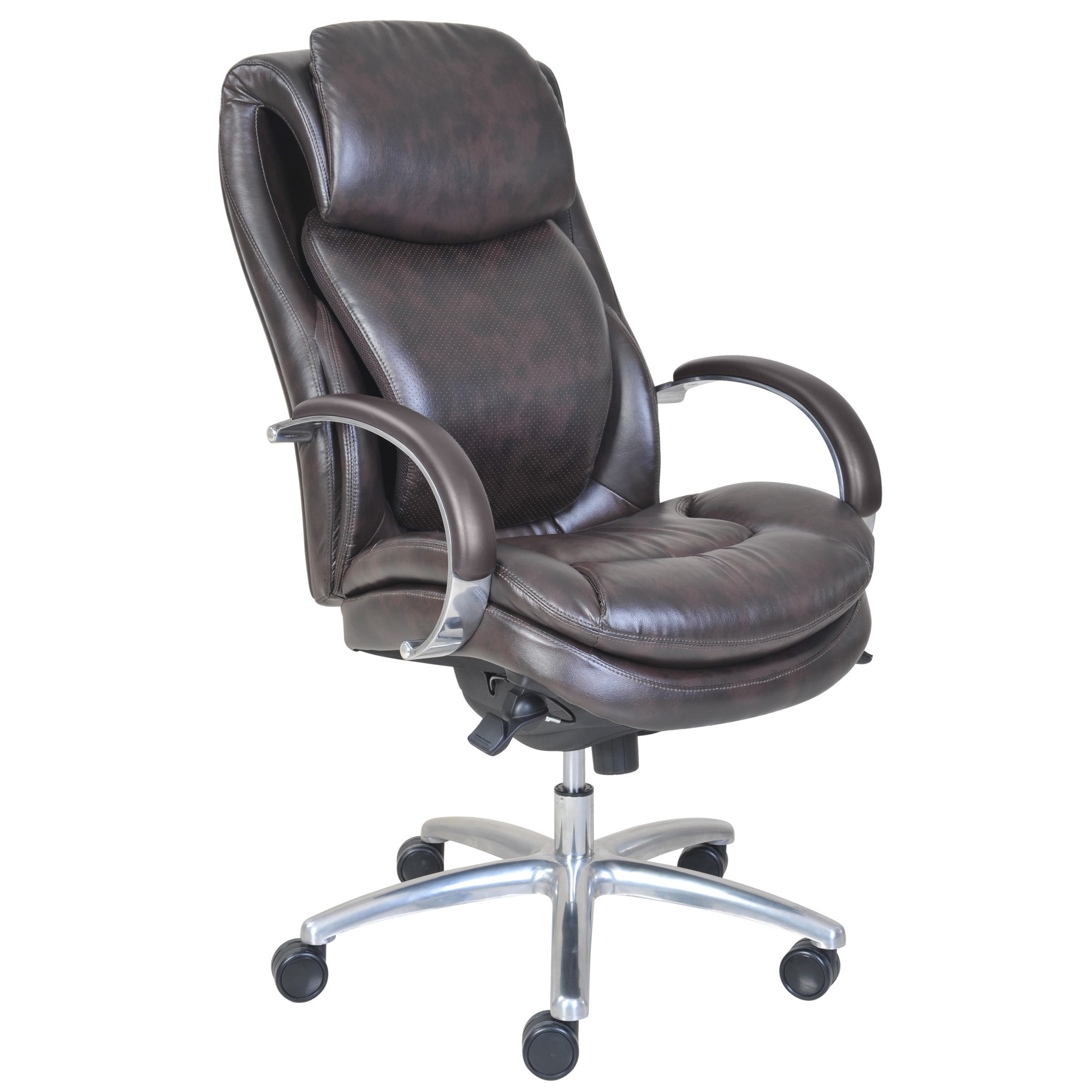 Serta Wellness By Design Air Commercial Series 100 Executive Puresoft Faux  Leather Chair   Free Shipping Today   Overstock   17213095
