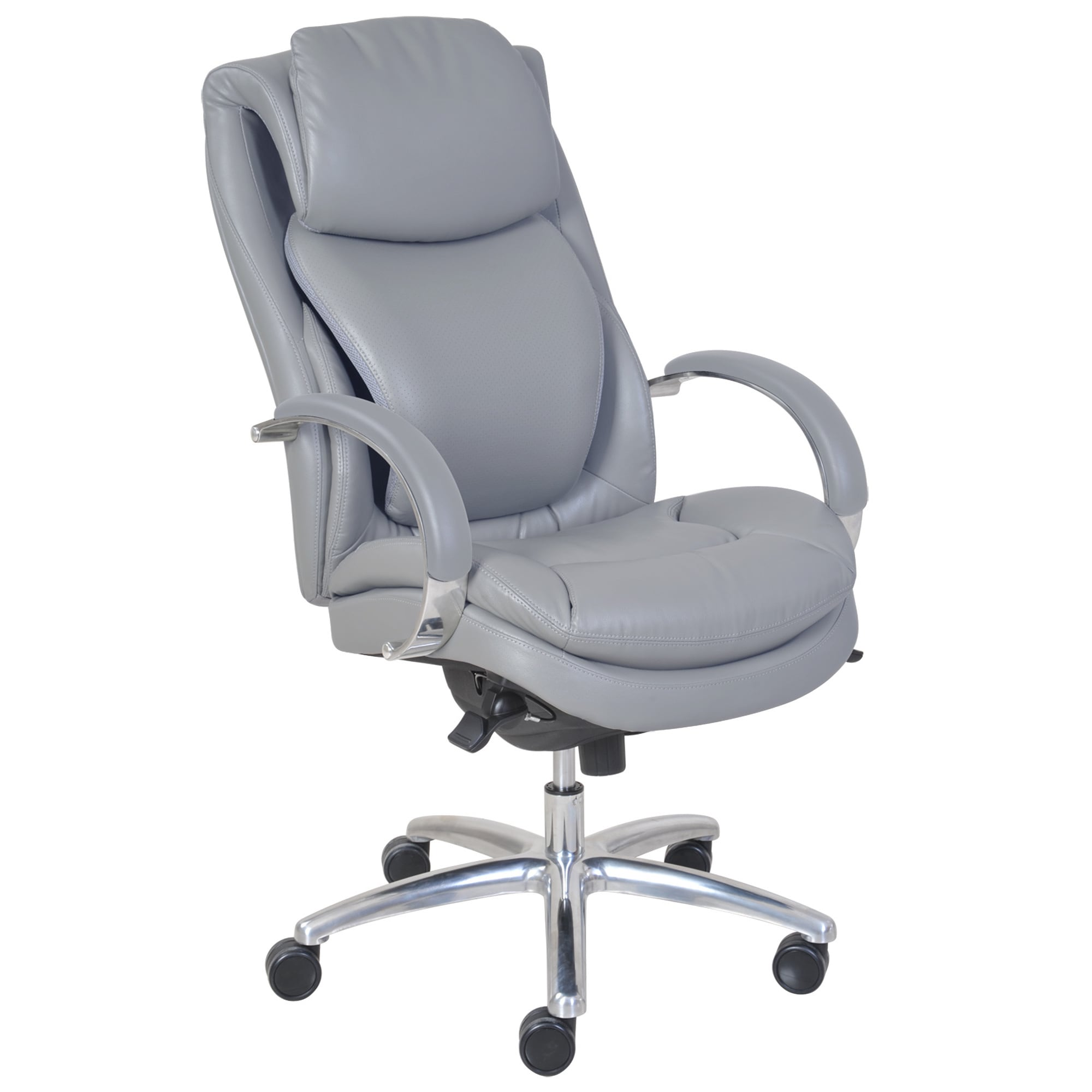 Shop Serta Wellness By Design Air Commercial Series 100 Executive Puresoft  Faux Leather Chair   Free Shipping Today   Overstock.com   10068676