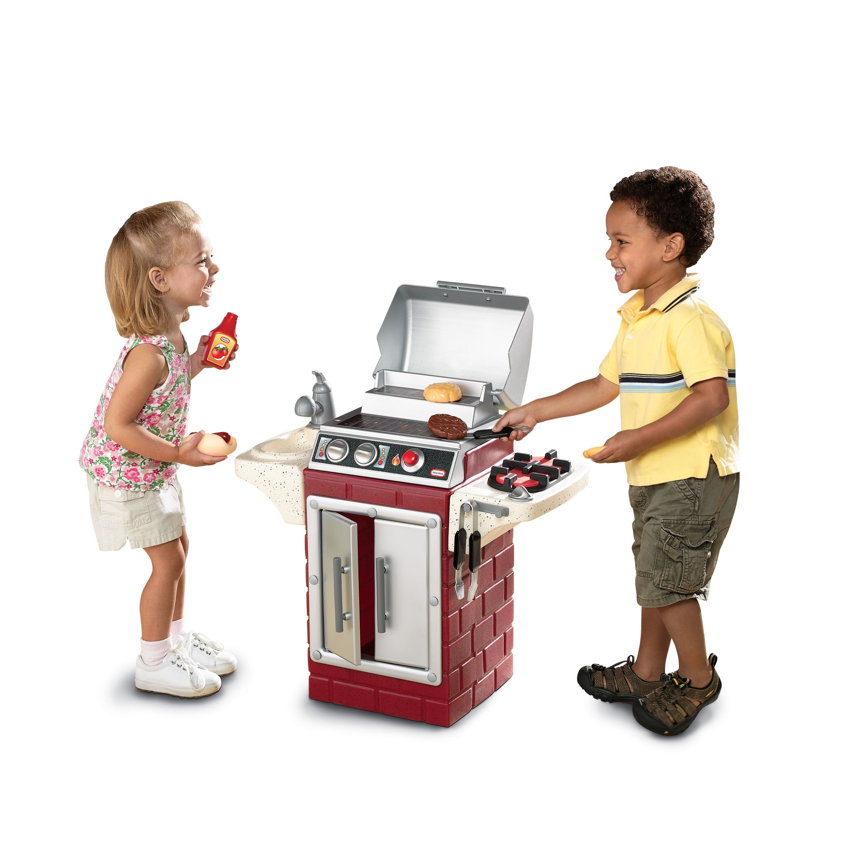 Shop Little Tikes Backyard Barbeque Get Out \'n Grill - Free Shipping ...