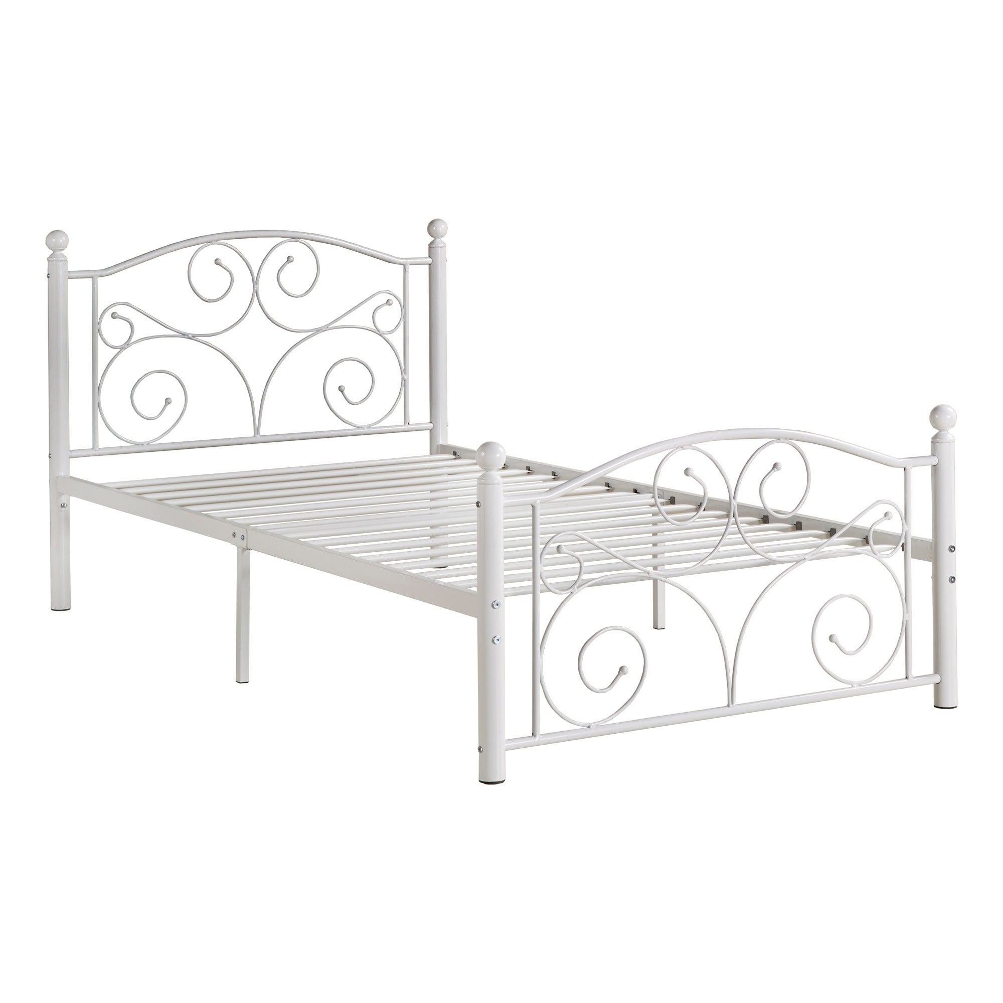 zinus slickdeals f platform king metal bed deal inch image twin net