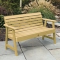 Highwood Weatherly 5-foot Eco-friendly Marine-grade Synthetic Wood Garden Bench