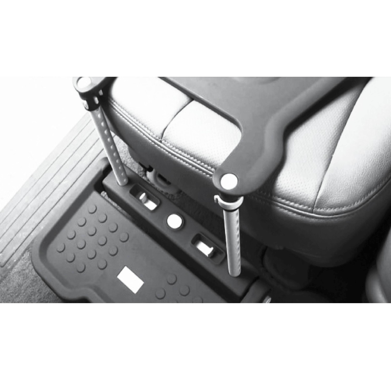 Shop KneeGuardKids Common Sense II Baby Car Seat Footrest In Grey