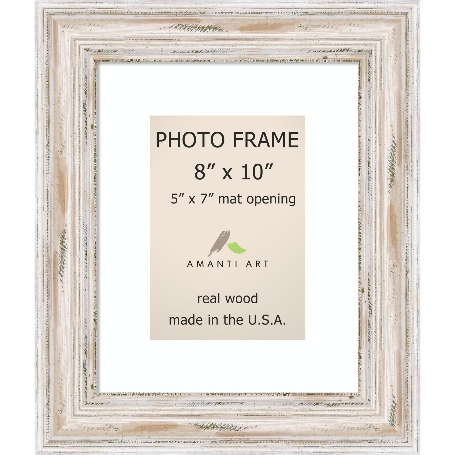 Alexandria whitewash photo frame 8x10 matted to 5x7 11 x 13 inch alexandria whitewash photo frame 8x10 matted to 5x7 11 x 13 inch free shipping today overstock 17221657 jeuxipadfo Gallery