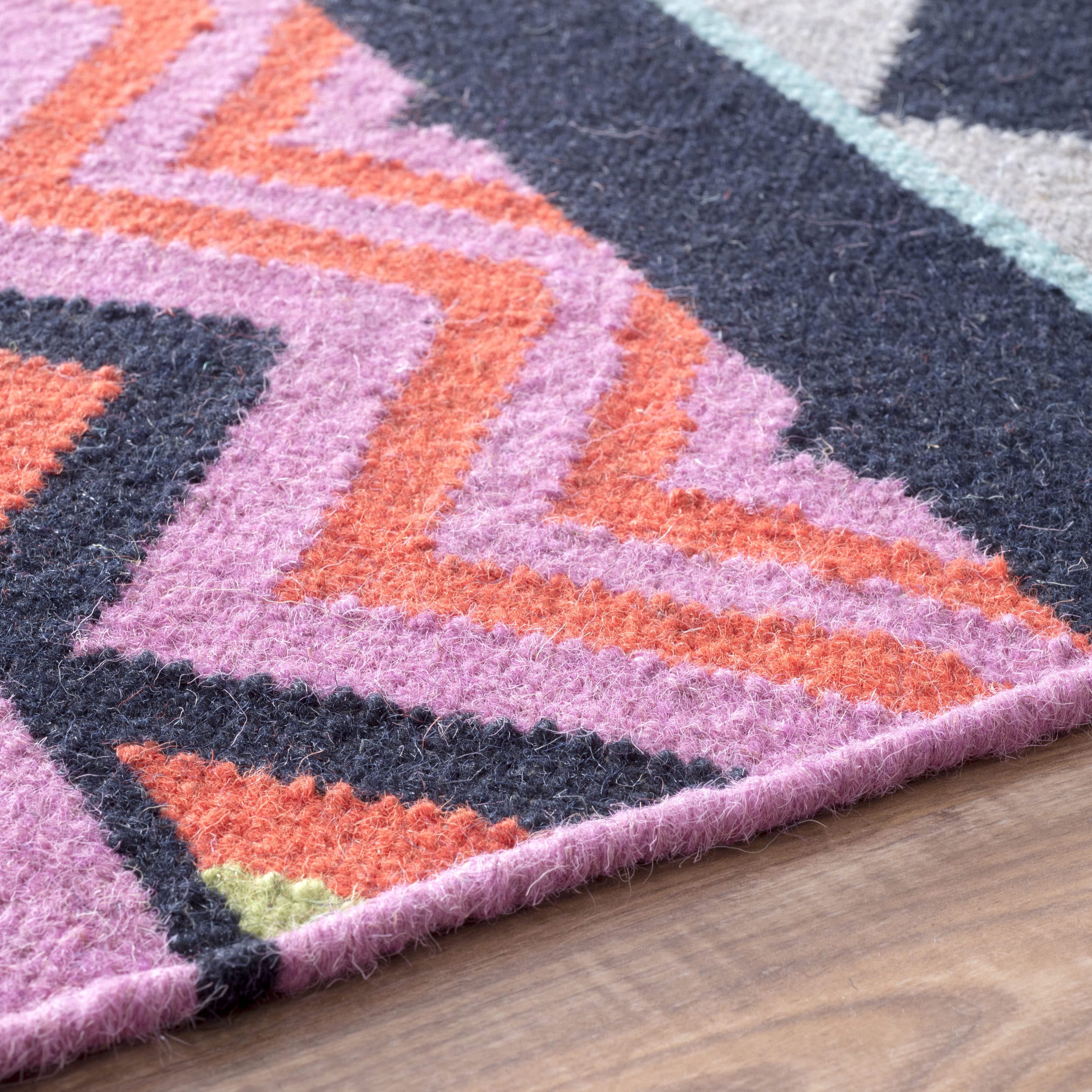 hard area weave random rainbow rug wearing floor multi modern coloured rugs flatweave flat