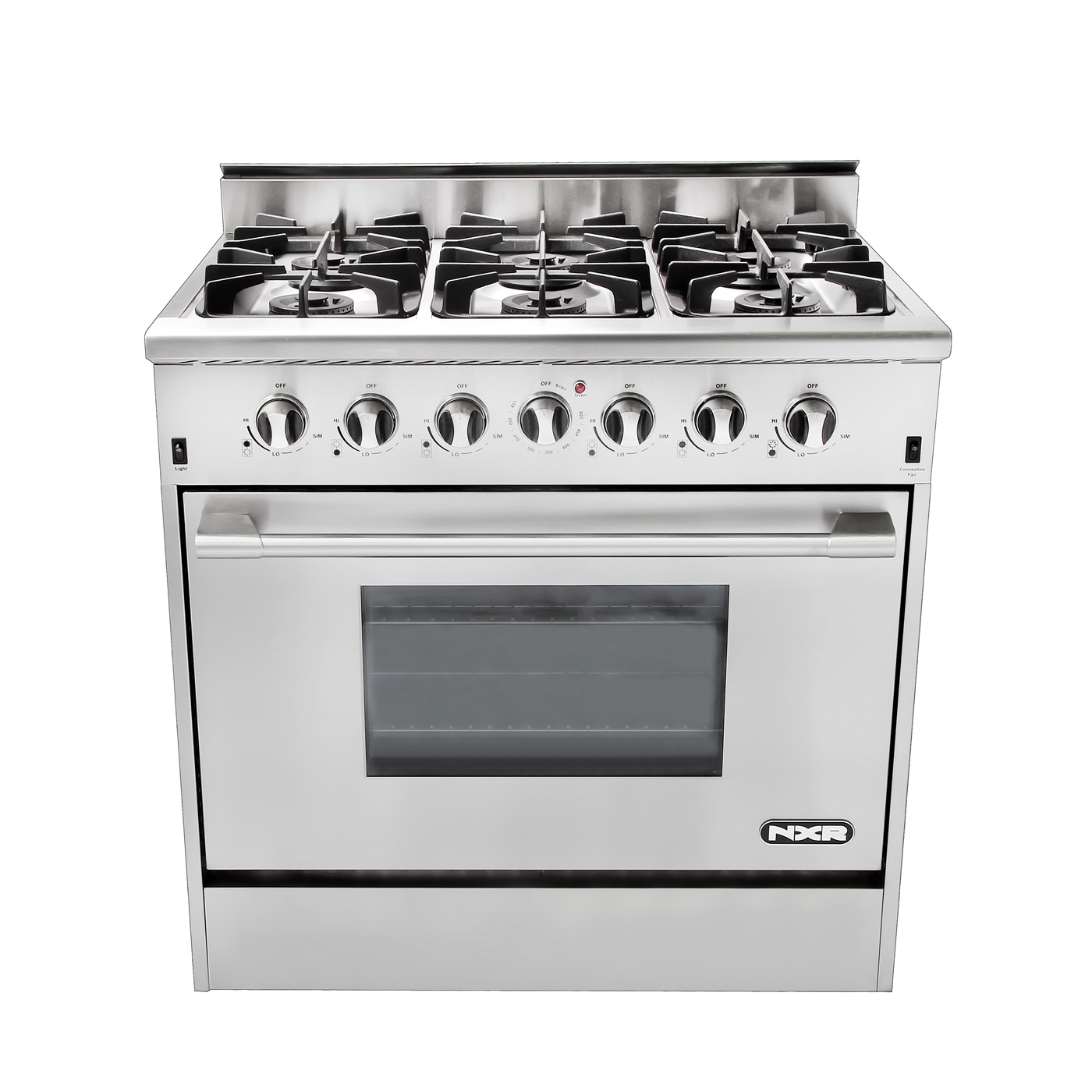 Nxr Professional Range 36 Inch 6 Burner Free Shipping Today 10084655