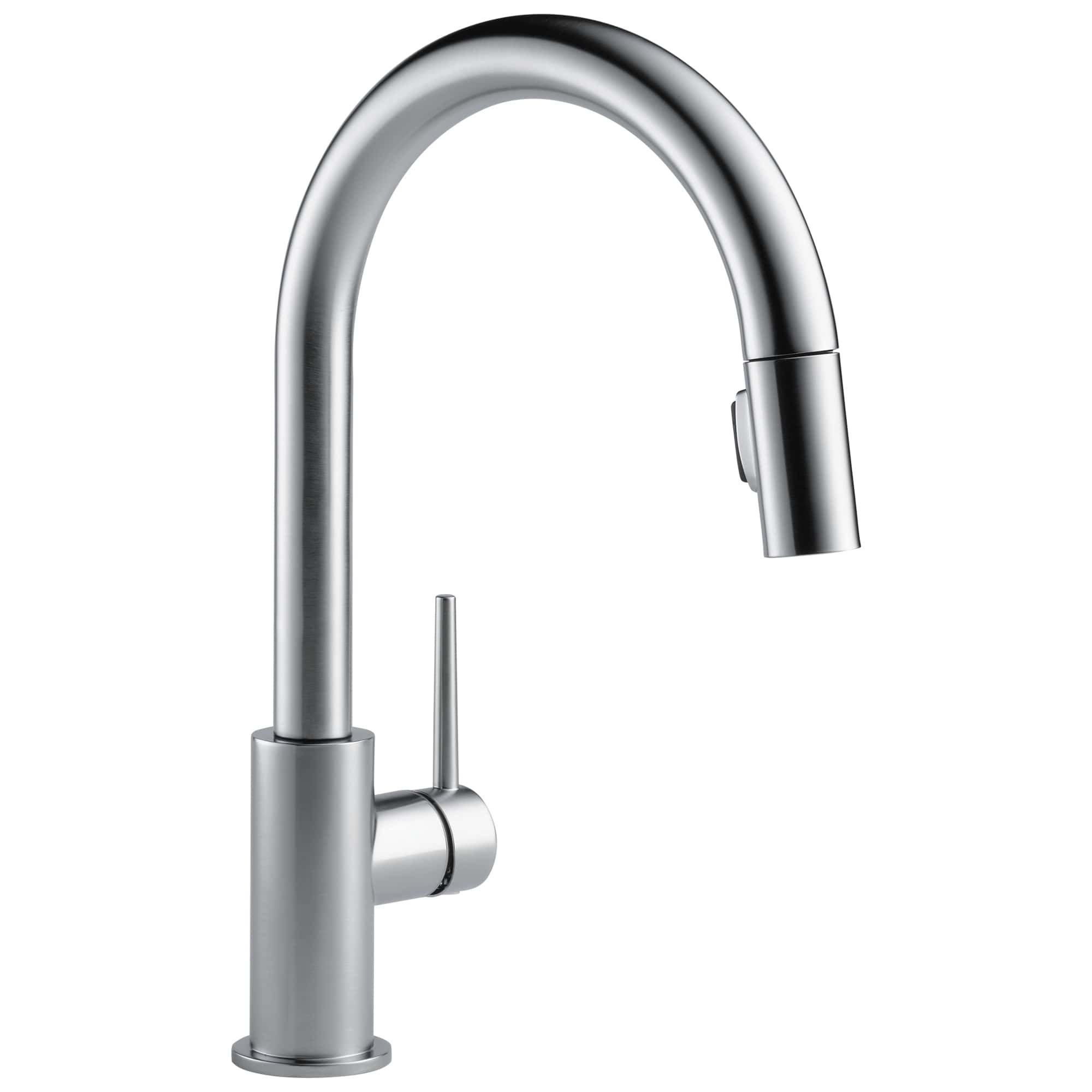 mount simple delta out spray water single antique loop down wrist filtering deck pull handle blade modern kitchen centerset pewter rinse divine faucet pre trinsic