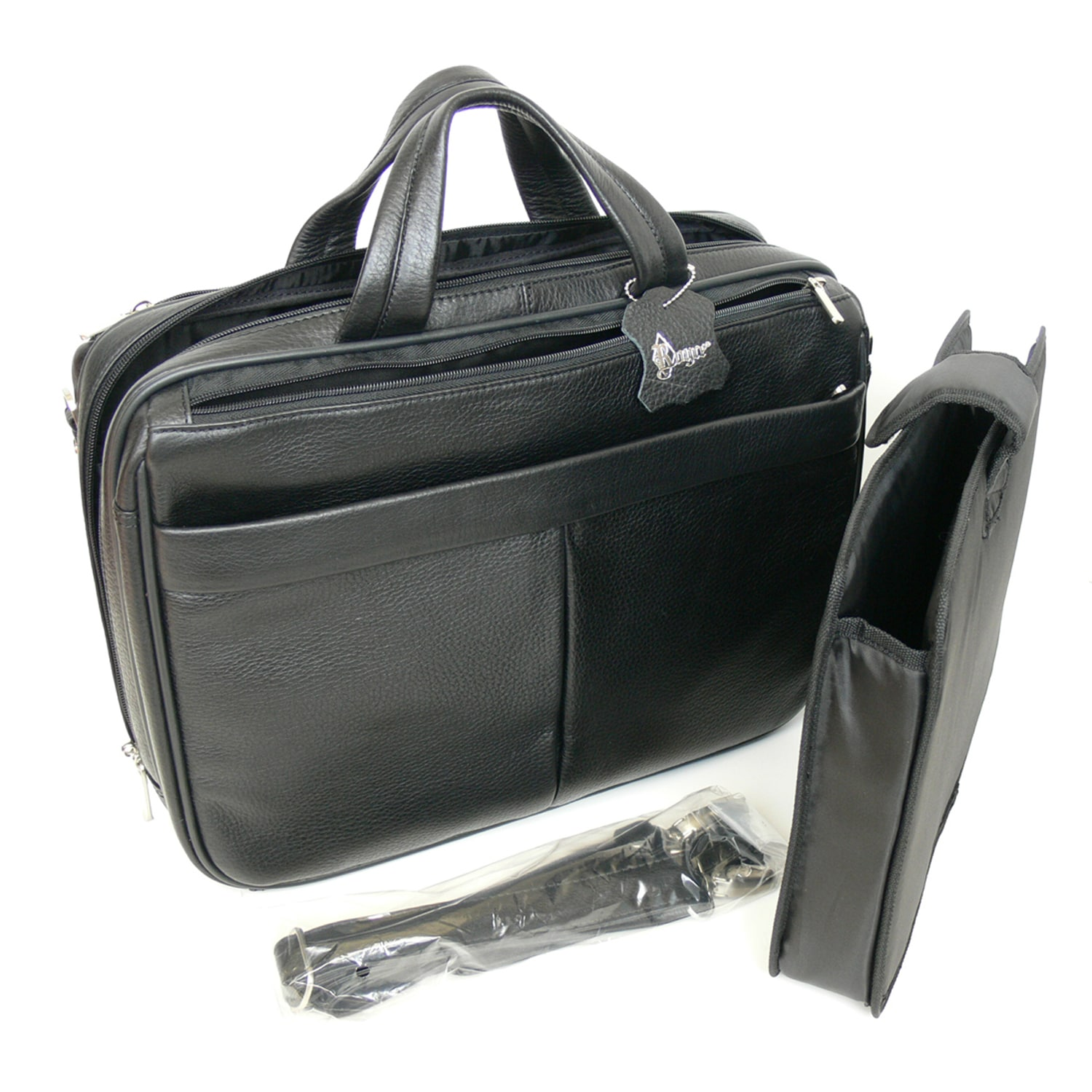 e8ce92b5badc Shop Royce Leather  Blair  Genuine Leather 15-inch Laptop Briefcase - Free  Shipping Today - Overstock.com - 10085663