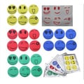 Mosquito Repellent Smiley Face Stickers (Set of 4 Sheets)