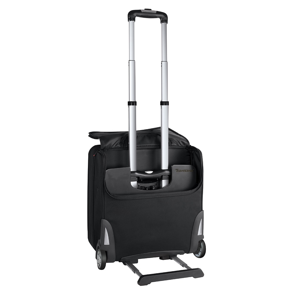 3051b110373 Shop Stebco TravelDesk 18-inch Upright Rolling Suitcase with Retractable  Mobile Work Station - Free Shipping Today - Overstock.com - 10089604