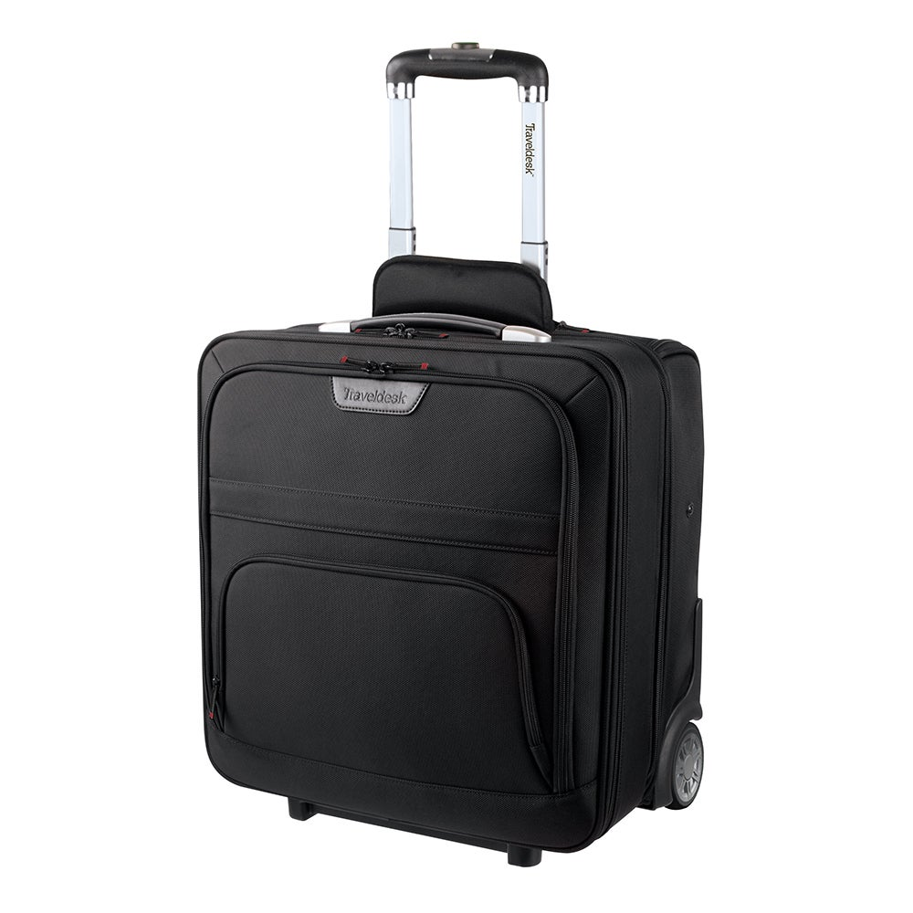 a7e8111629fd Stebco Traveldesk 18 Inch Upright Rolling Suitcase With