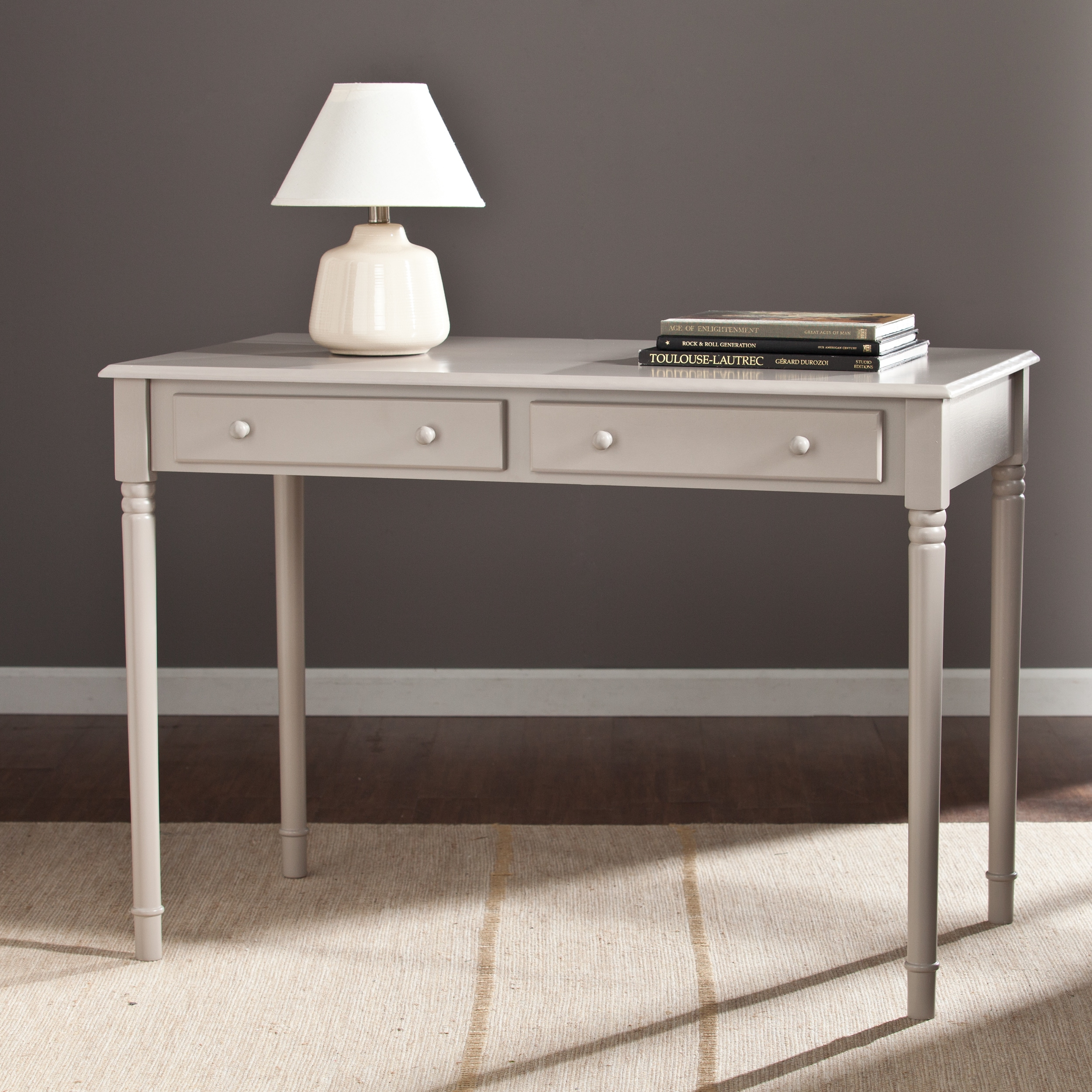 moss liberty collection gray desk writing creek