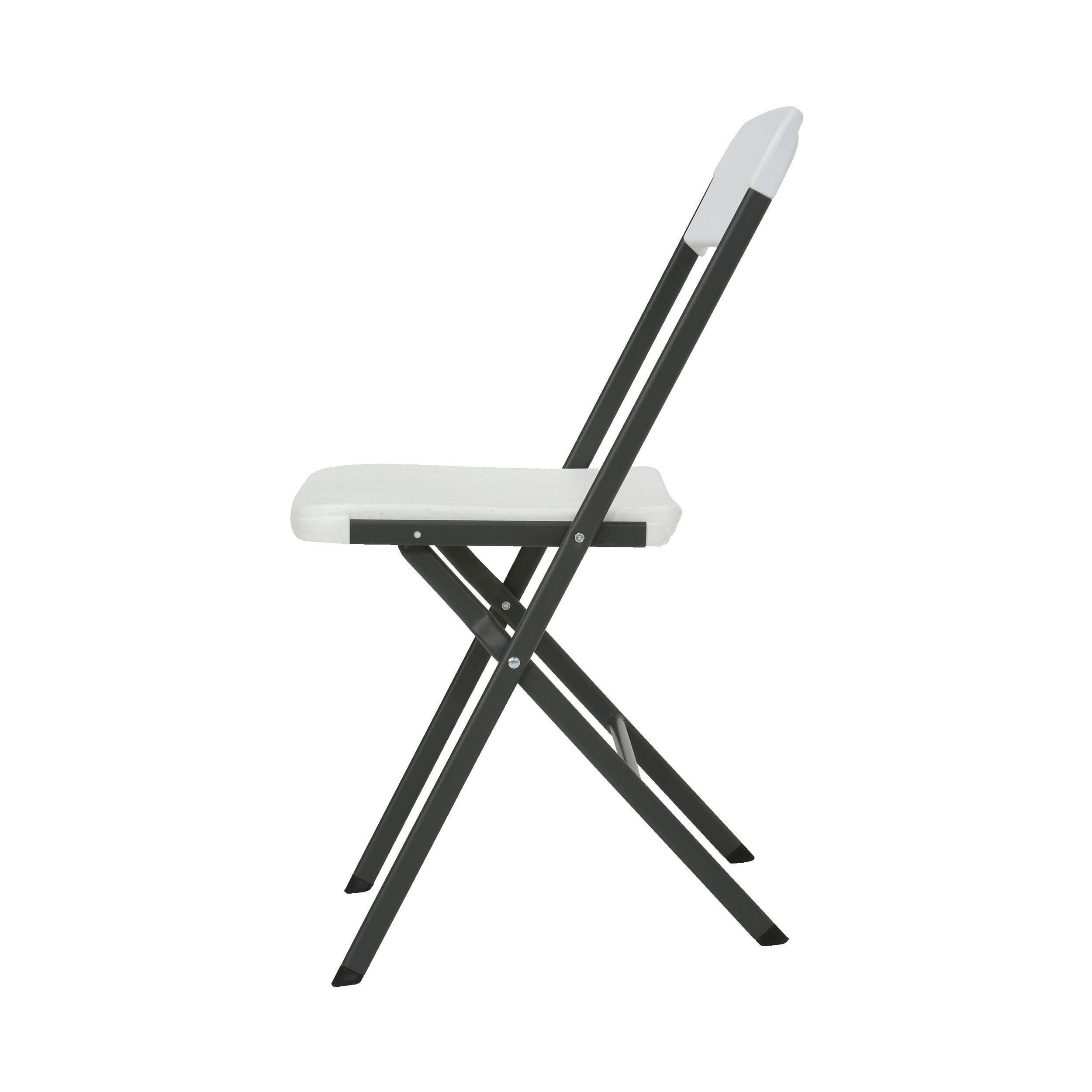 Stupendous Contemporary Residential White Granite Folding Chair Set Of 4 Interior Design Ideas Apansoteloinfo