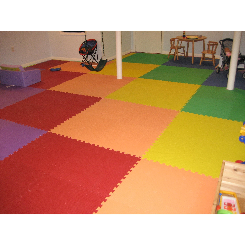 floor stalwart eva mats foam black reviews wayfair pdx commercial interlocking