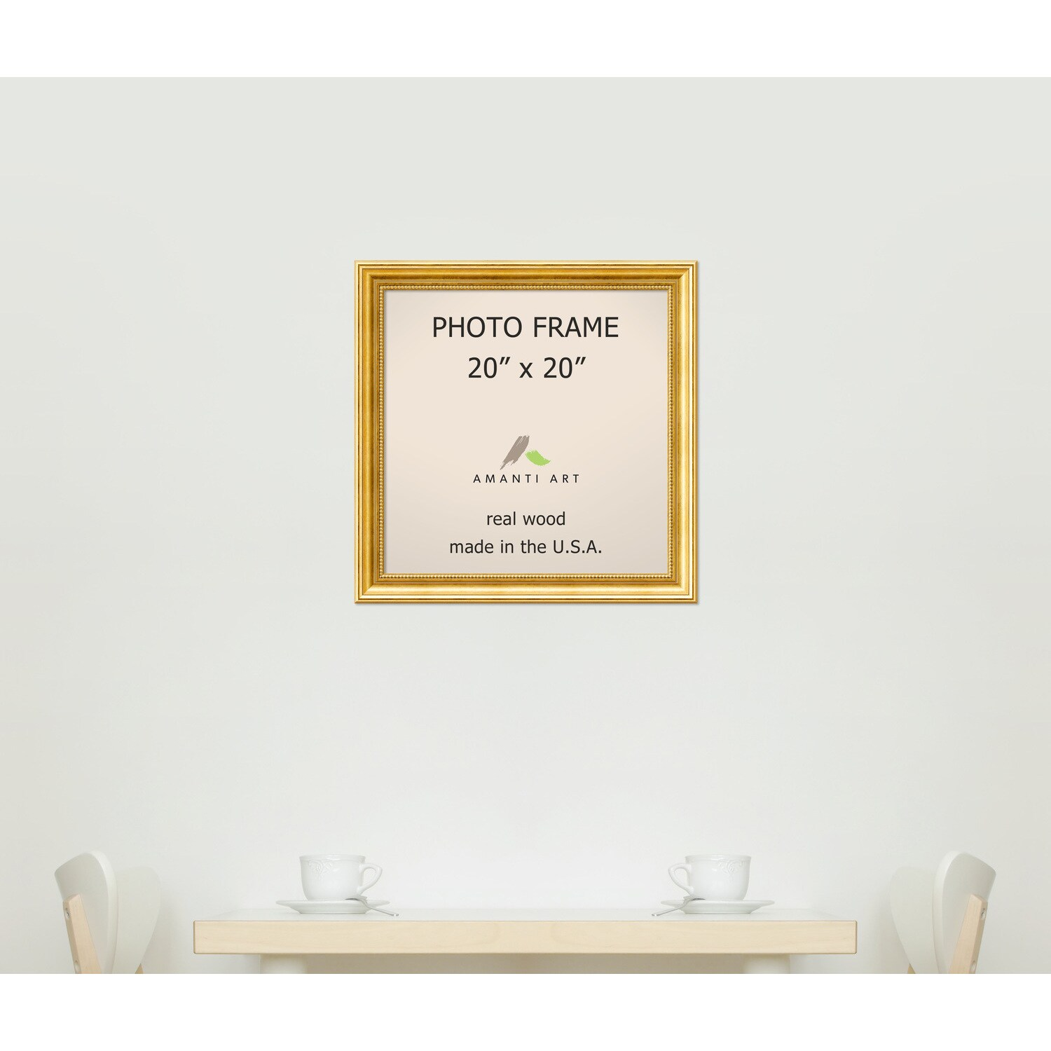 Townhouse Gold Photo Frame 23 x 23-inch - Free Shipping Today ...