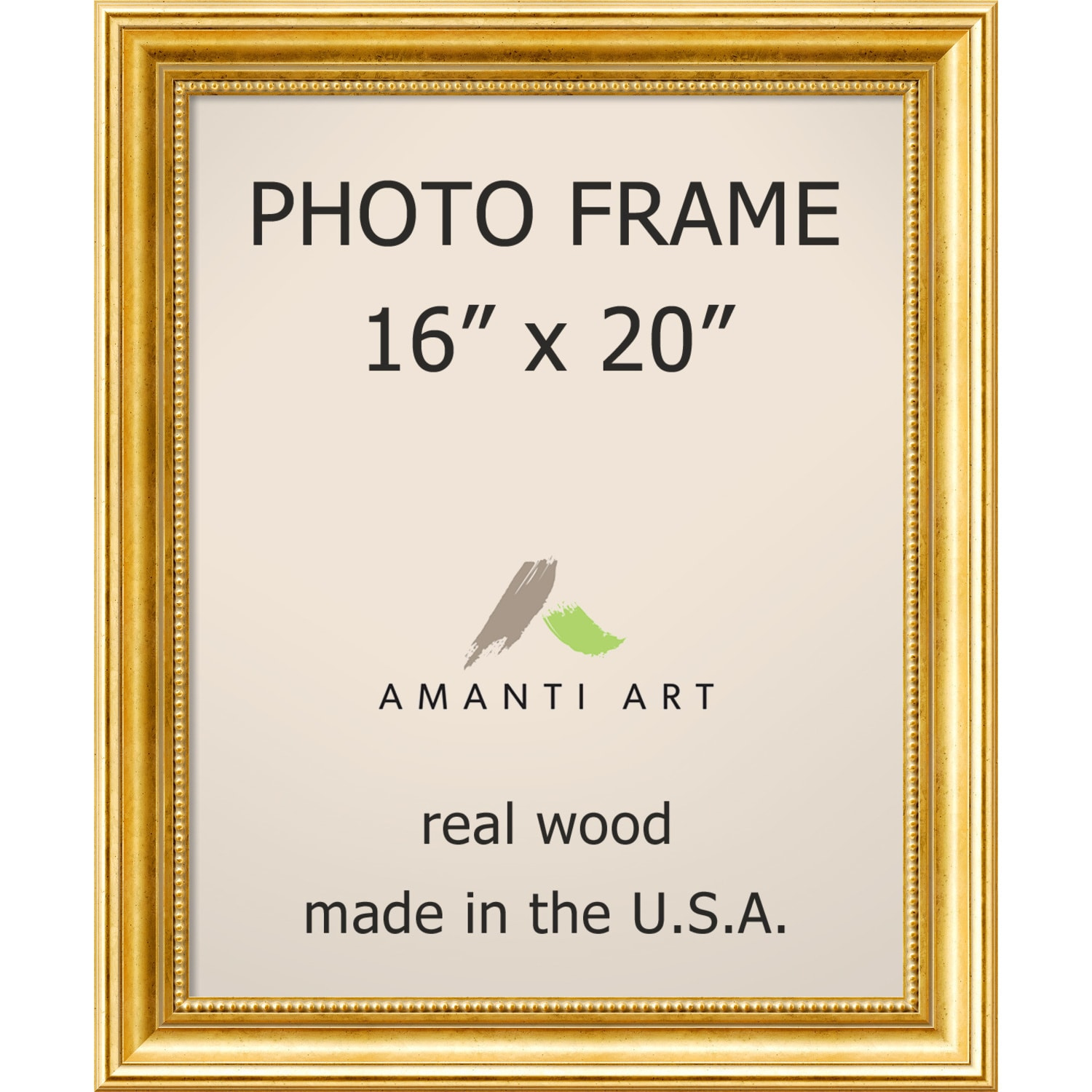 Shop Townhouse Gold Photo Frame 19 x 23-inch - Free Shipping Today ...