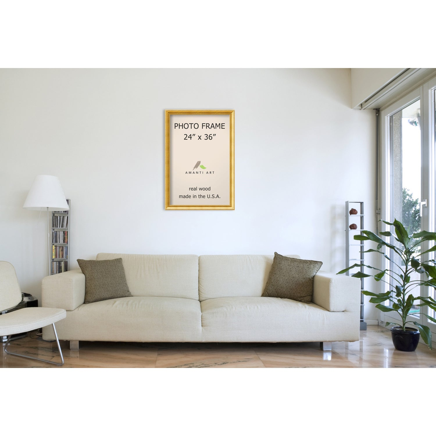 Townhouse Gold Photo Frame 27 x 39-inch - Free Shipping Today ...