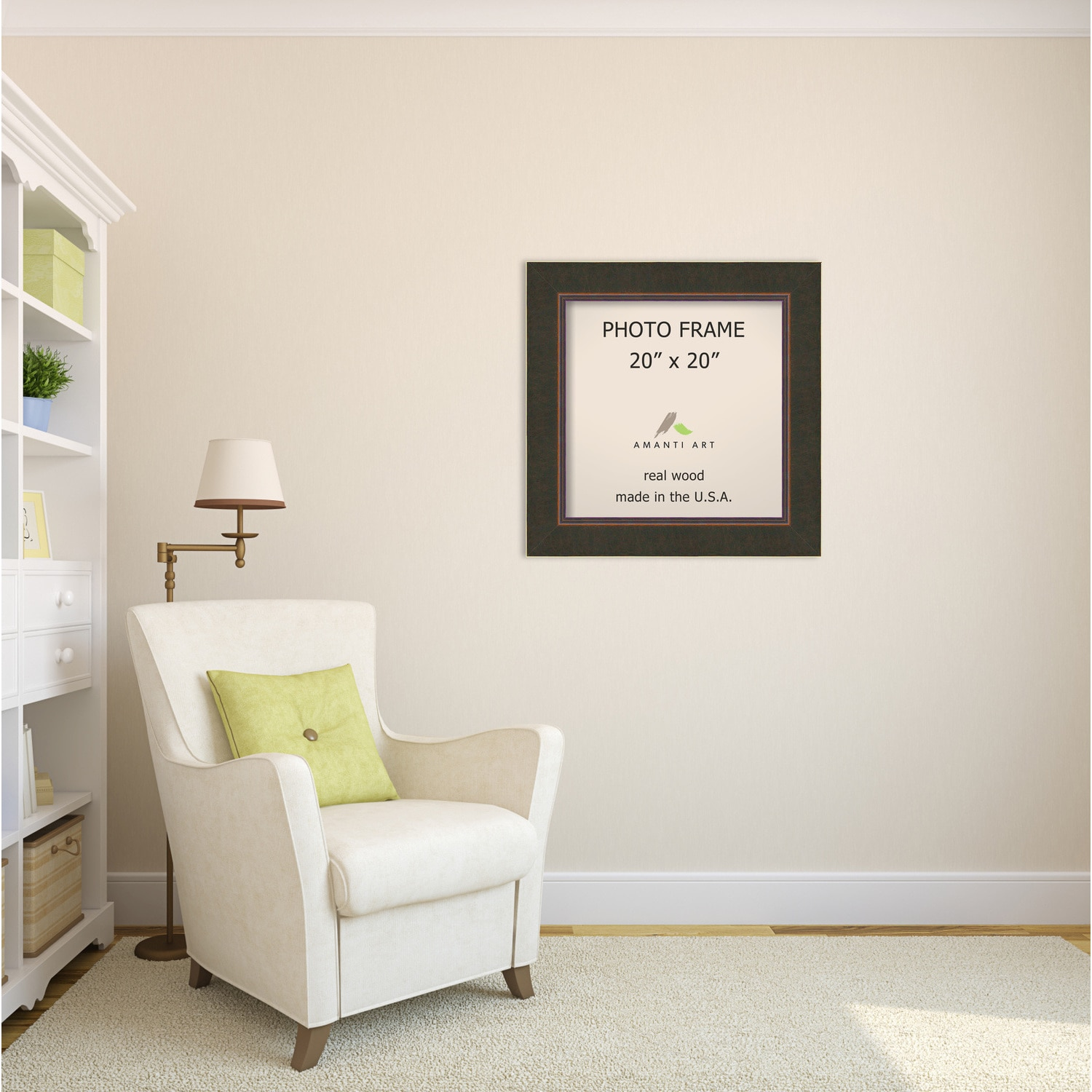 Milano Bronze Photo Frame 26 x 26-inch - Free Shipping Today ...
