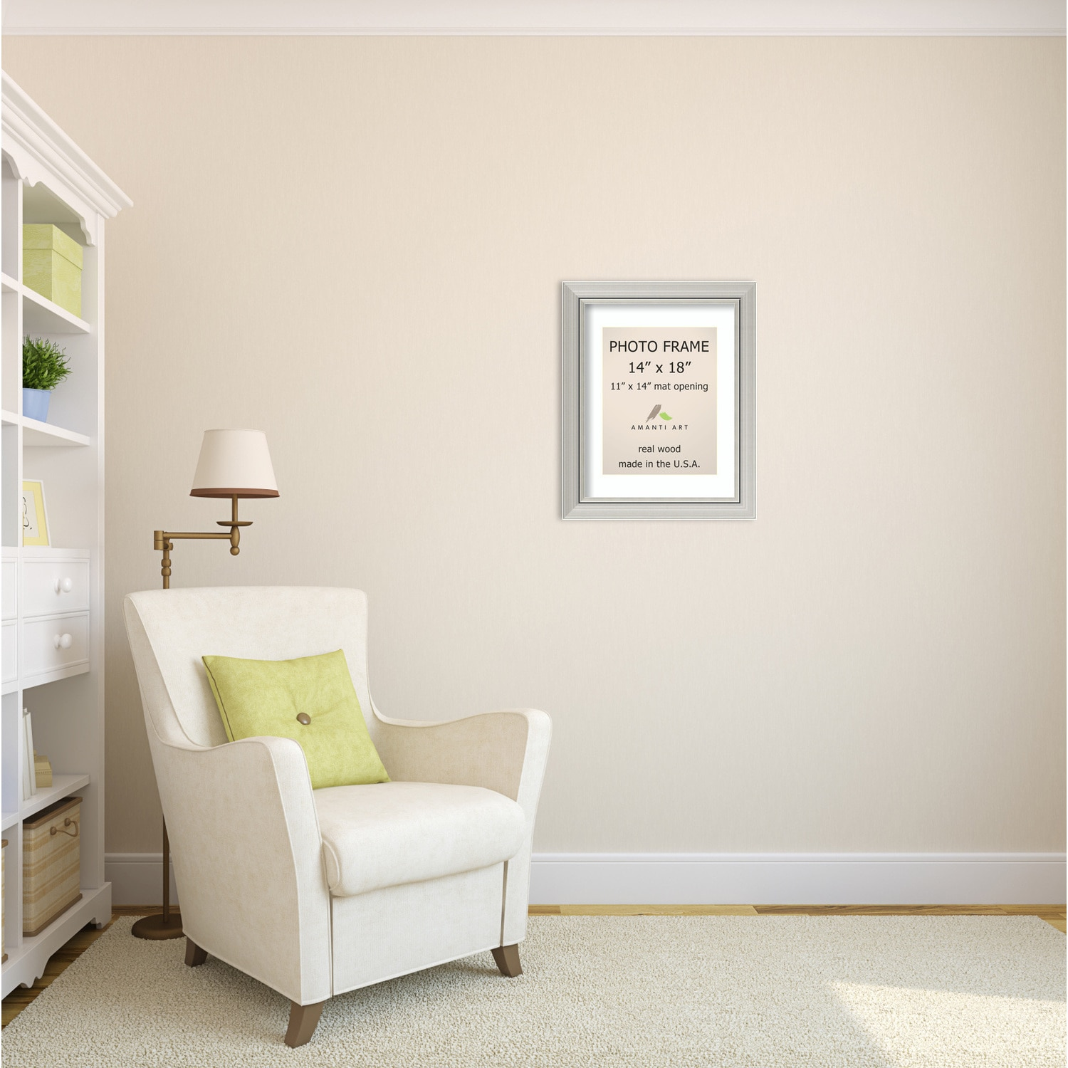 Shop Romano Silver Photo Frame 18 x 22-inch - Free Shipping Today ...