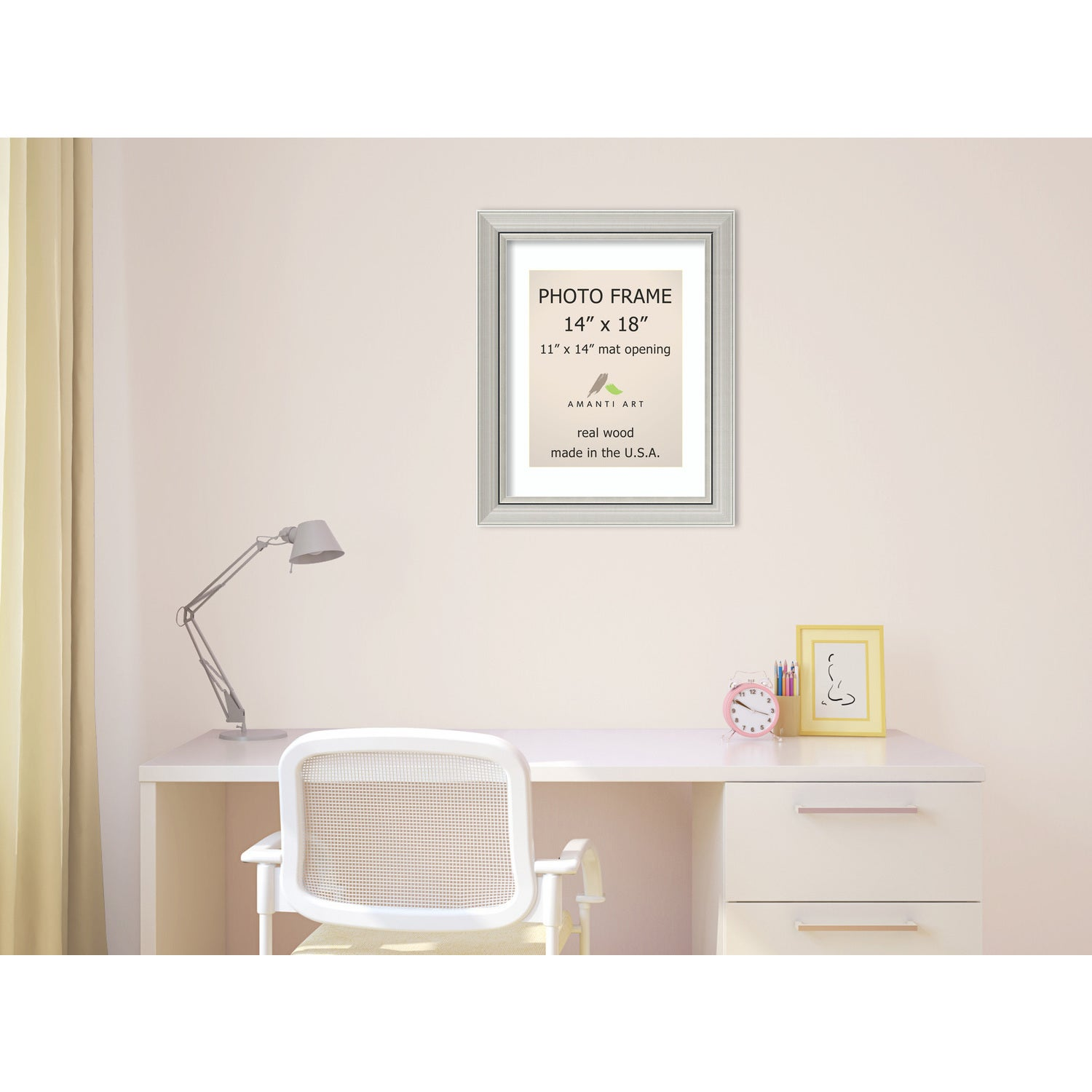 Romano Silver Photo Frame 18 x 22-inch - Free Shipping Today ...