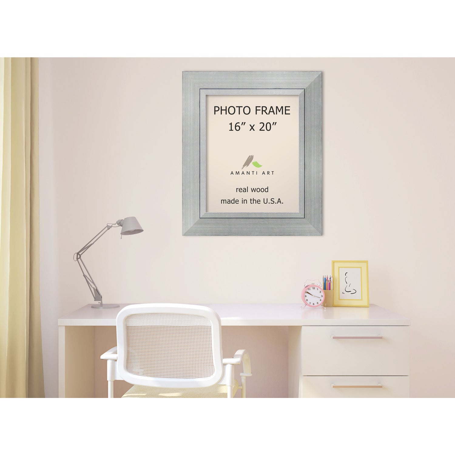 Romano Silver Photo Frame 23 x 27-inch - Free Shipping Today ...