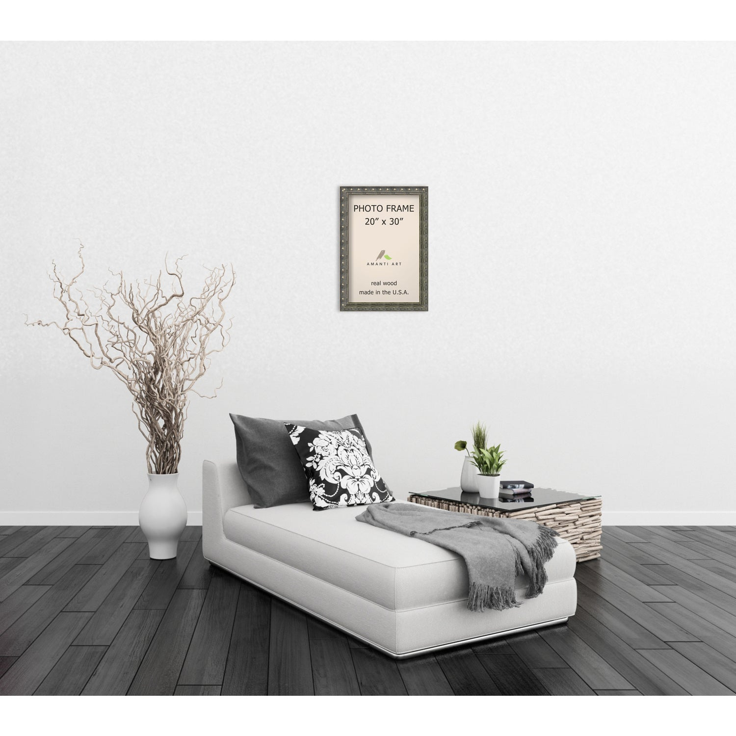 Shop Barcelona Pewter Photo Frame 24 x 34-inch - On Sale - Free ...