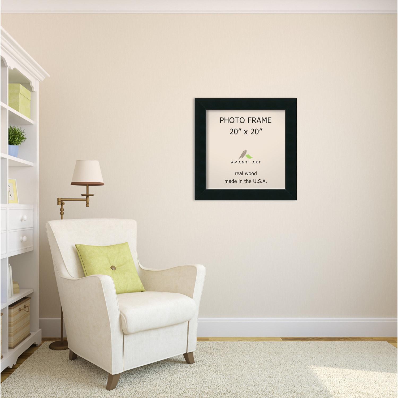 Shop Corvino Black Photo Frame 25 x 25-inch - Free Shipping Today ...