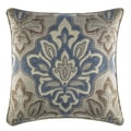 Croscill Captain's Quarters Medallion Faux Linen Square 18-inch Throw Pillow