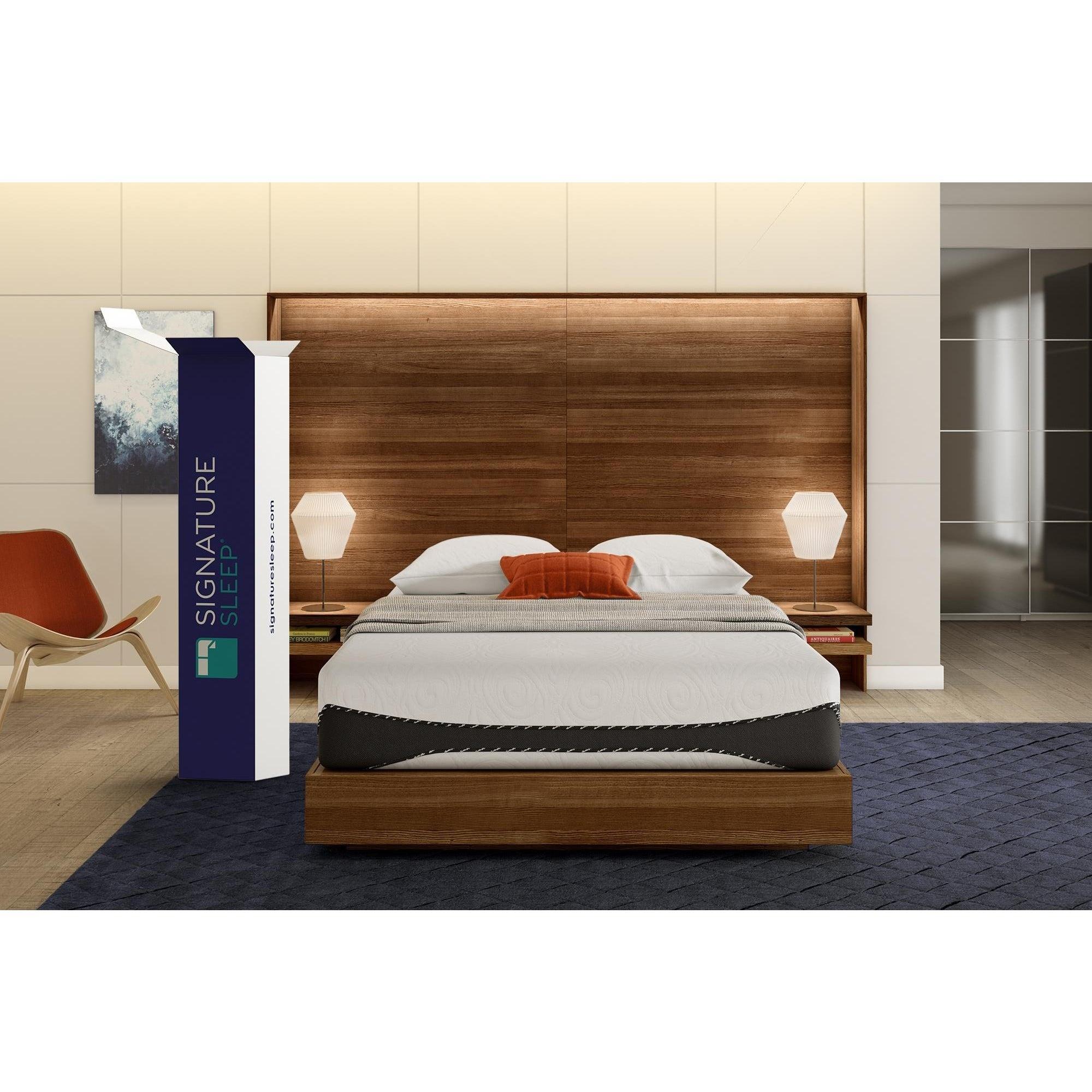 Shop Signature Sleep Bliss 12 Inch Luxury Gel Memory Foam Mattress