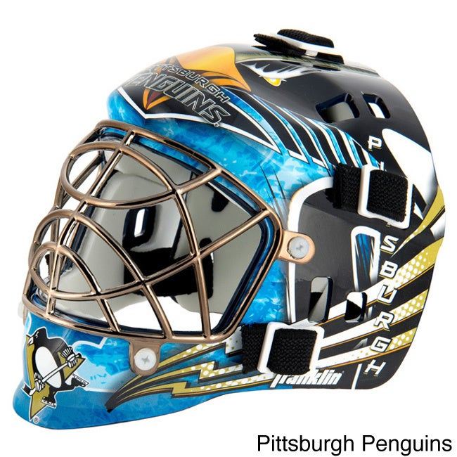 detailed look 08811 4dd39 Shop Franklin Sports NHL Mini Goalie Mask - Free Shipping On Orders Over   45 - Overstock - 10102988