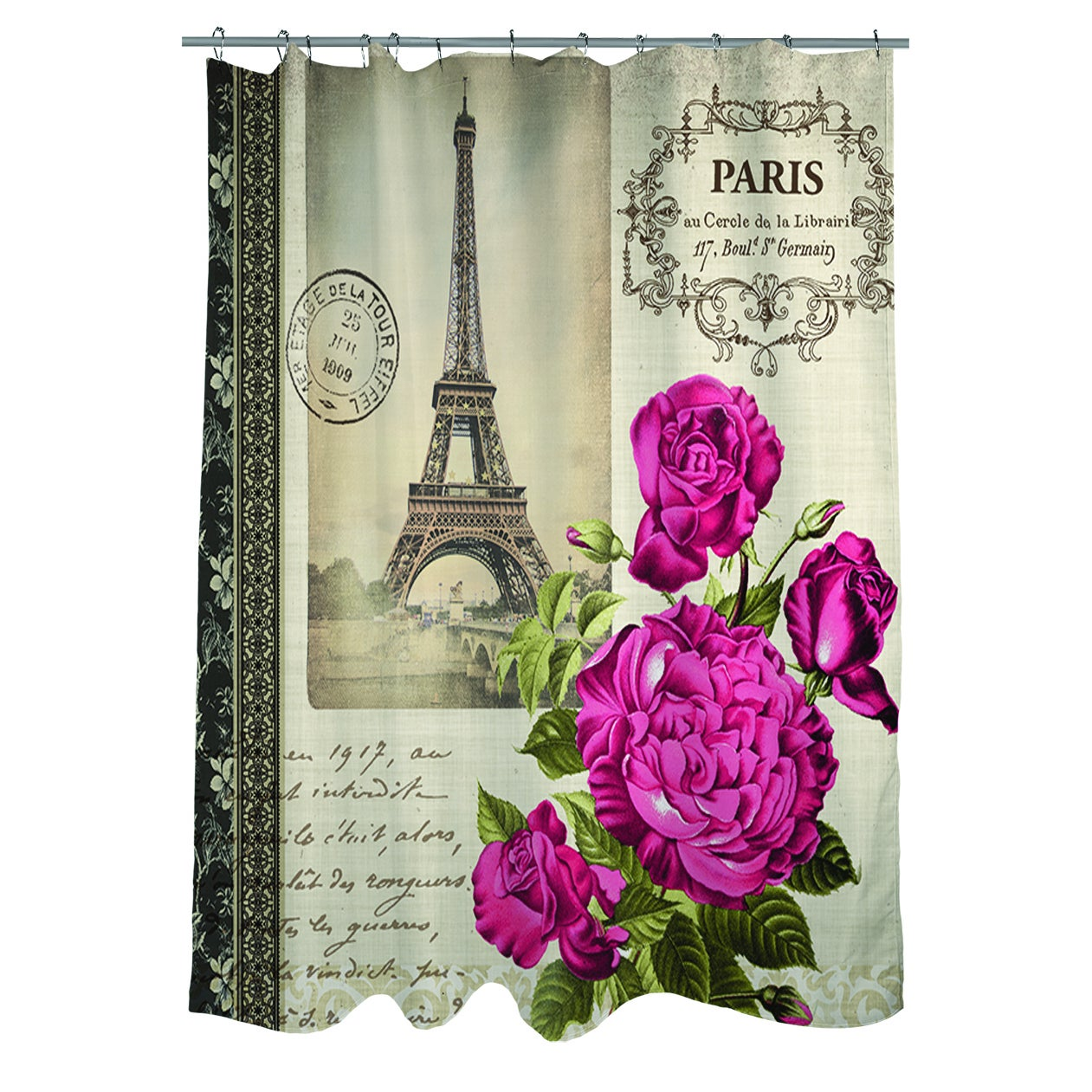 wayfair eternal symbol of drawing bed pdp pencil bath ambesonne with love tattoo curtains ca shower set roses curtain hourglass romantic