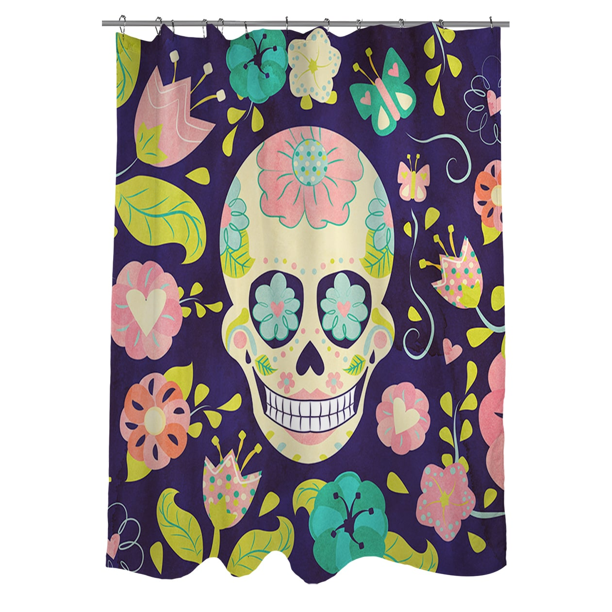 Shop Sugar Skull Shower Curtain
