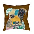 Thumbprintz Pattern Collage Pit Indoor/ Outdoor Pillow
