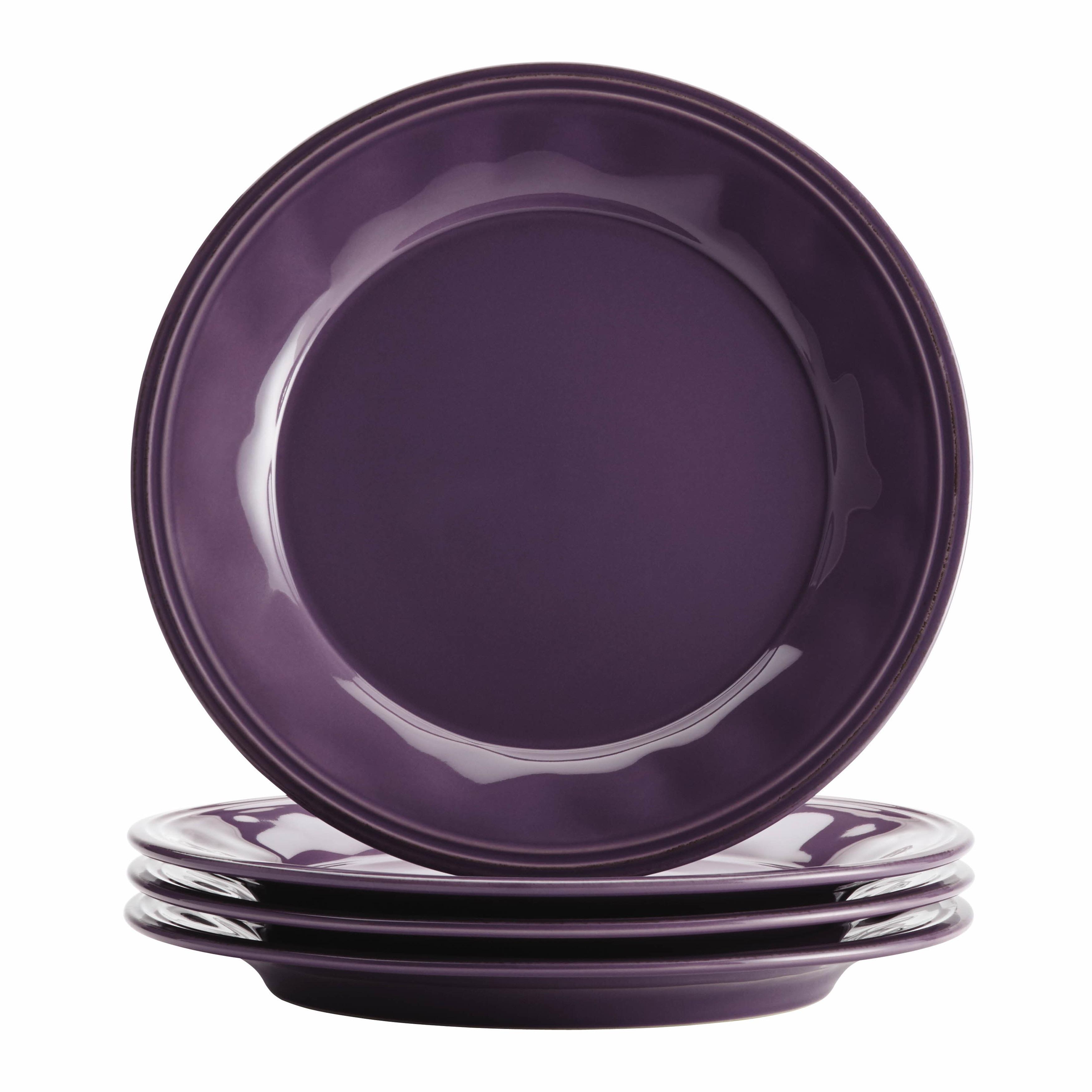 Shop Rachael Ray Cucina Dinnerware 16-piece Lavender Purple Stoneware Dinnerware Set - On Sale - Free Shipping Today - Overstock.com - 10111188  sc 1 st  Overstock & Shop Rachael Ray Cucina Dinnerware 16-piece Lavender Purple ...