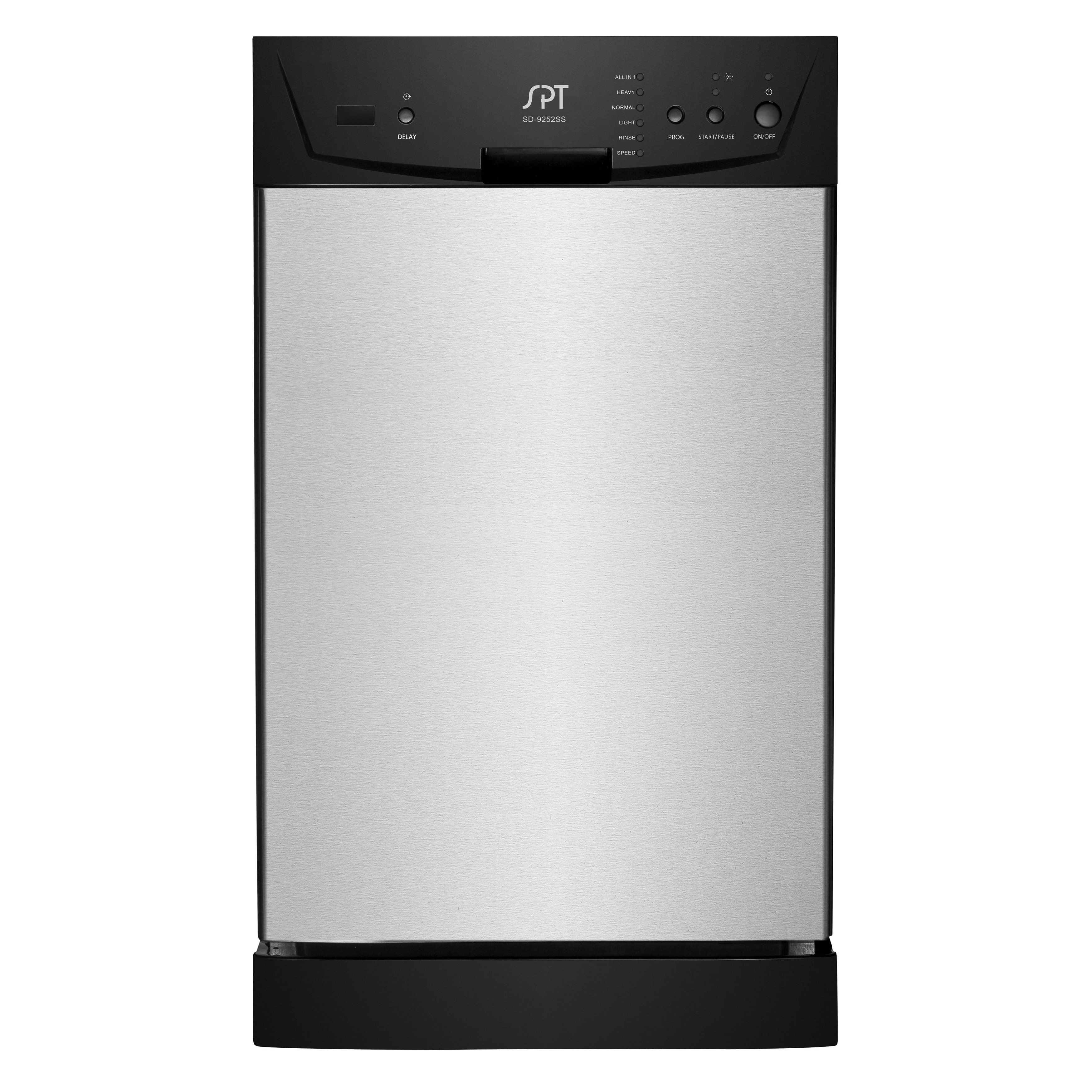 Good SPT Energy Star Stainless Steel 18 Inch Built In Dishwasher   Free Shipping  Today   Overstock   17256950